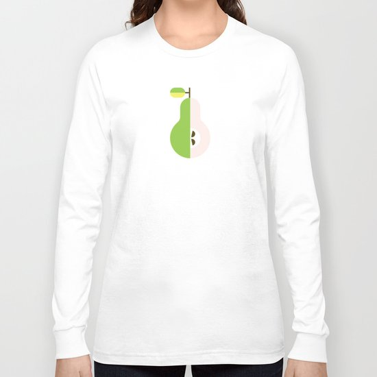 Fruit: Pear Long Sleeve T-shirt