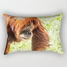 Orangutang Rectangular Pillow