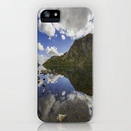 Llyn Llydaw iPhone Case