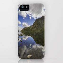 Llyn Llydaw iPhone Case