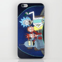 Space Drunks iPhone Skin