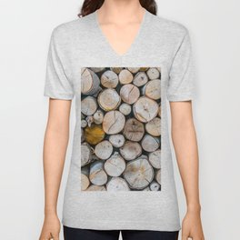 Logged Unisex V-Neck