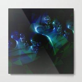 Stunning Fractal mix Metal Print