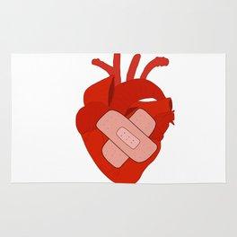 fix ya heart Rug