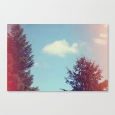 Collecting Clouds {goldfish} Canvas Print