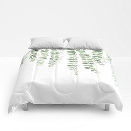 Eucalyptus Watercolor Comforters