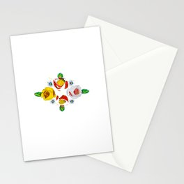 Canal roses of noproblem Stationery Cards