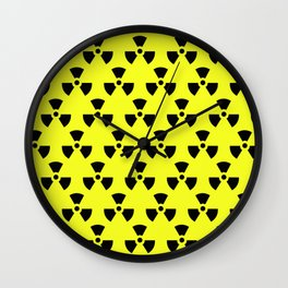 Radiation Pattern Wall Clock