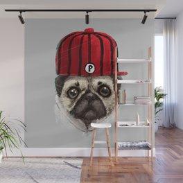 Mr Pug - Pug Dog Lover Wall Mural