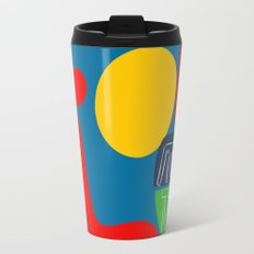 The sun is mine today illustration Travel Mug