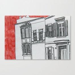 Strasse  Canvas Print