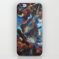 "courage iPhone & iPod Skins featuring ""Courage"" by Kasia Pawlak"