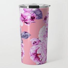 Flora temptation - sunset Travel Mug
