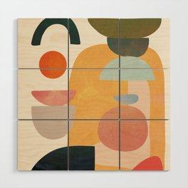 Modern Abstract Art 70 Wood Wall Art