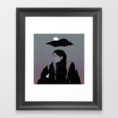 If My Dark Cloud Were Full of Stars (I'd Let It Hang Over Me) Framed Art Print