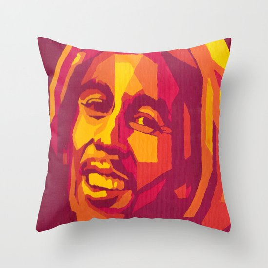 bm Throw Pillow