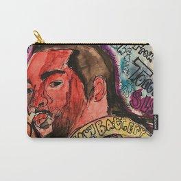 pnd,soul,rnb,hiphop,singer,rapper,ovo,poster,portrait,colourful,lyrics,music,fan art, Carry-All Pouch