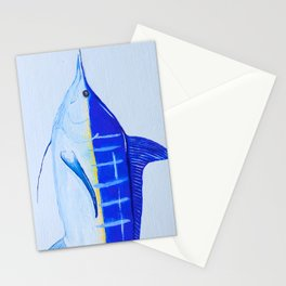 Pacific Blue Marlin Stationery Cards