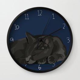 Nine Hour Nap Wall Clock