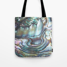 Shimmery Pastel Abalone Shell Tote Bag