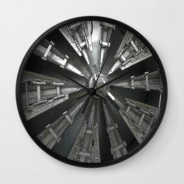 Raw Power Wall Clock