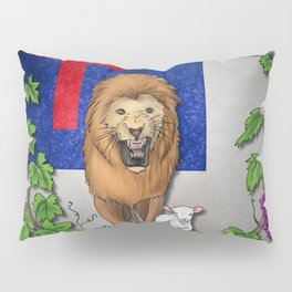 Lion and the Lamb Pillow Sham