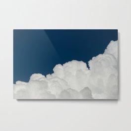Cielo & nube Metal Print