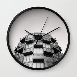 Random Residential Building, Gravel Ln, Salford. Wall Clock