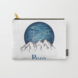 Pisces Watercolour Painting Carry-All Pouch