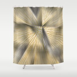 Implosion of vibration Shower Curtain