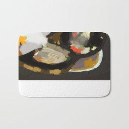 Burnt Toast with Sardines Bath Mat