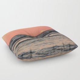Setting Sun Floor Pillow