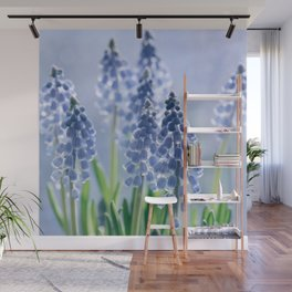 Grape hyacinths muscari 278 Wall Mural