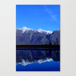 Knik River Mts Canvas Print