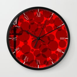 Gaslight Background Wall Clock