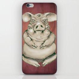 Piggy iPhone Skin
