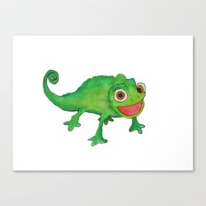 Pascel (From Tangled) Watercolor Canvas Print
