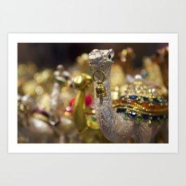 Camel Figurines from a Dubai Shop Art Print