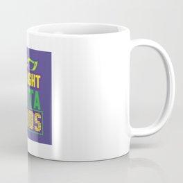 Straight Outta Beads - Funny Mardi Gras Gift Coffee Mug