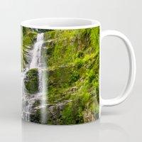 waterfall Mugs featuring Waterfall by Pati Designs