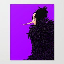 Karasu the Tengu Canvas Print