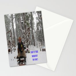 Top o' the Mornin' to you Stationery Cards