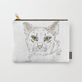 Anger cat lady Carry-All Pouch