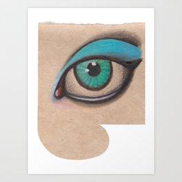 all just eyes IIc Art Print