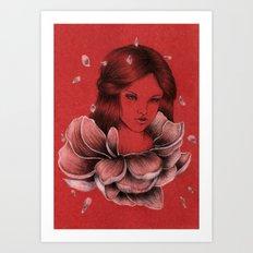Peony III Art Print