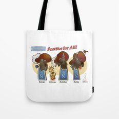 Scotties for all! Tote Bag