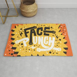 FACE PUNCH Rug