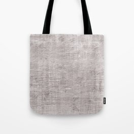 Grey scrateched Tote Bag