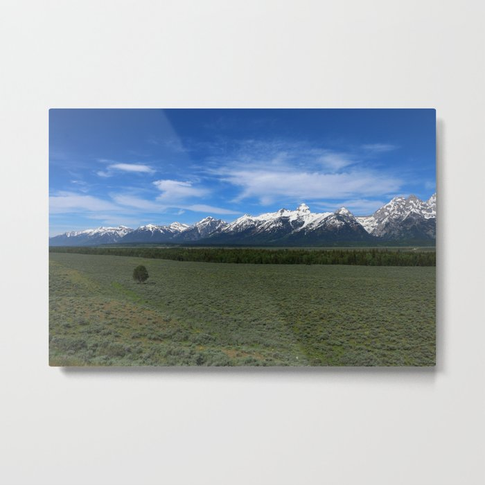 Beautiful Wyoming Landscape Metal Print