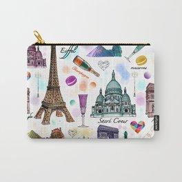 Voyage à Paris (Watercolor) Carry-All Pouch